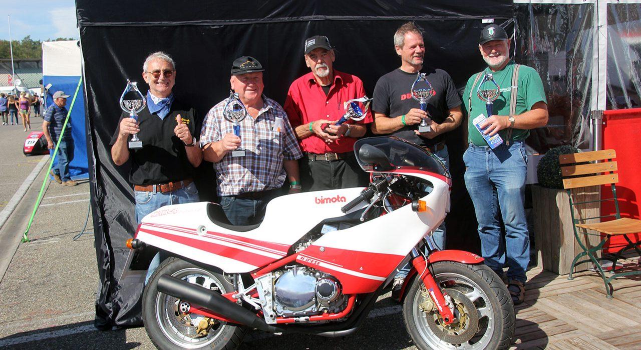 Zielfahrer Ehrungen auf der Hockenheim Classics 2018
