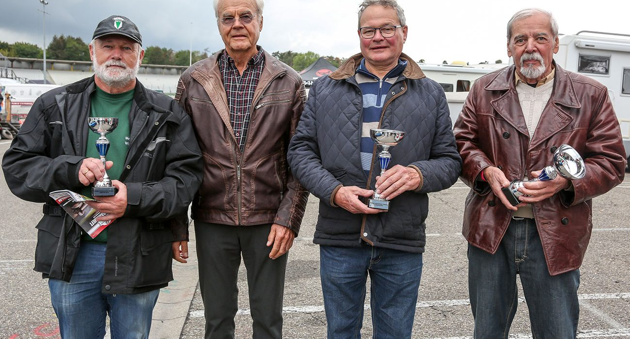 Pokalverleihung Zielfahrer 2019